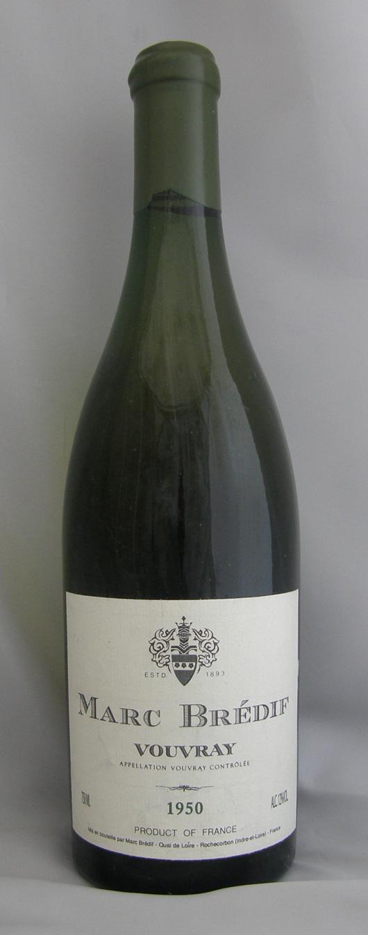 1950年 ヴーヴレイ(フランス 白ワイン)