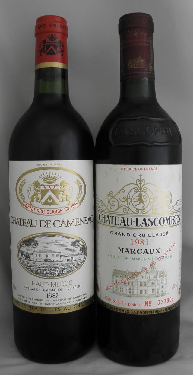 1982年 シャトー ド カマンサック(フランス 赤ワイン)