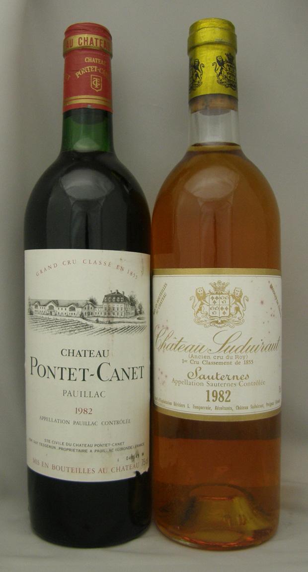 1982年 シャトー ポンテカネ(フランス 赤ワイン)