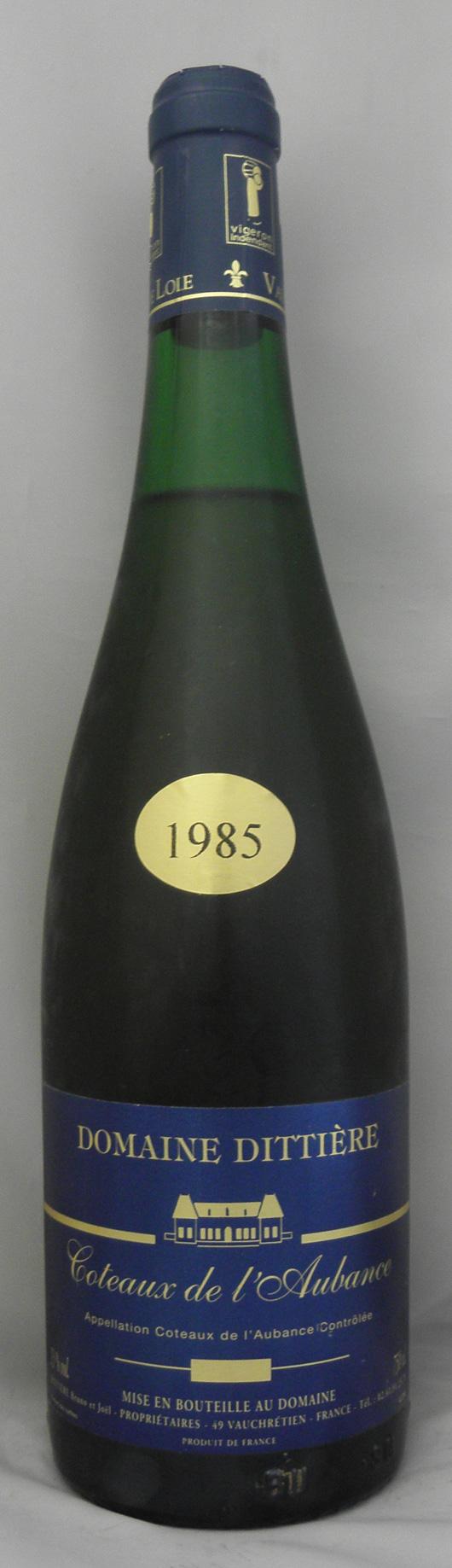 1985年 コトー ド ローバンス(フランス 白ワイン)