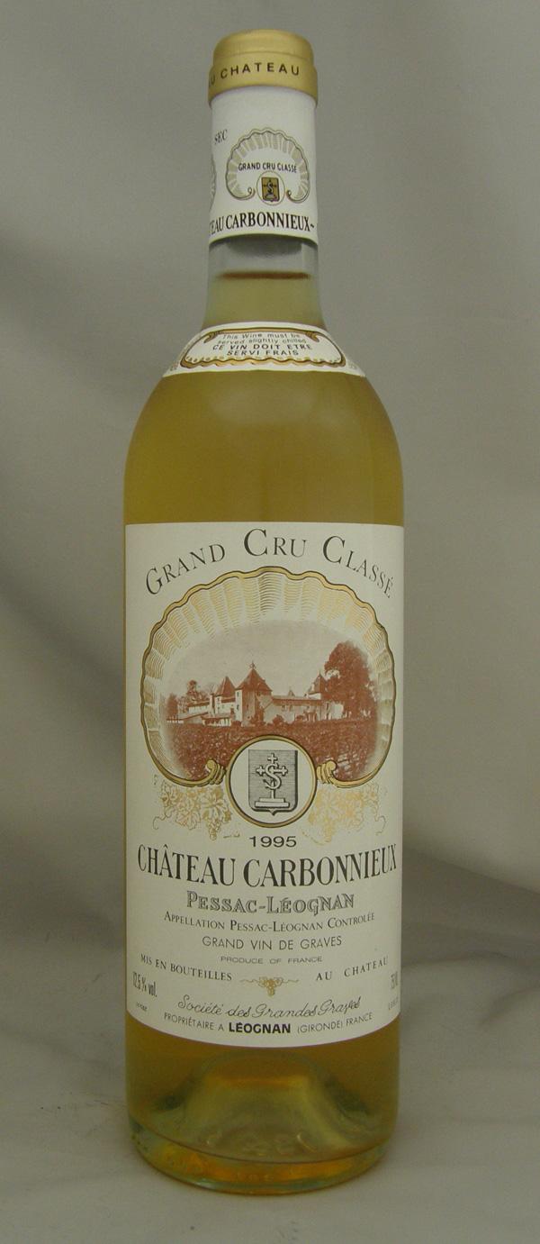1995年 シャトー カルボニュー ブラン(フランス 白ワイン)