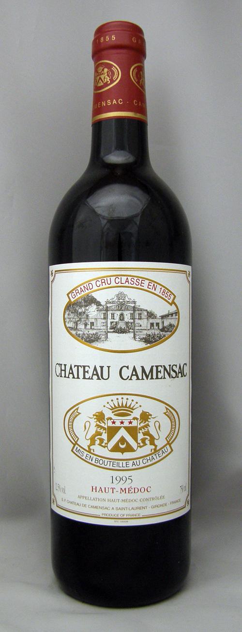 1995年 シャトー カマンサック(フランス 赤ワイン)