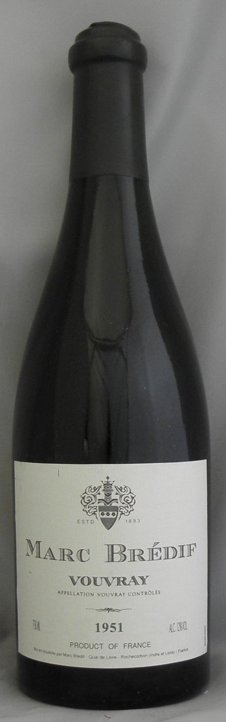 1951年 ヴーヴレイ(フランス 白ワイン)