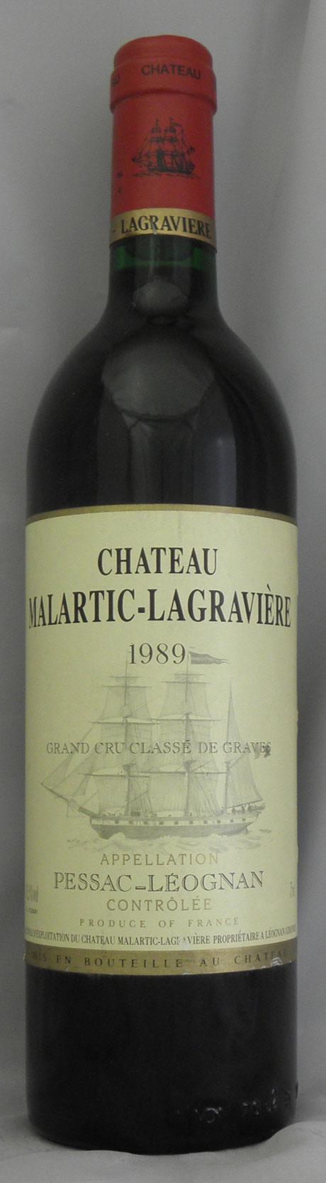 1989年 シャトー マルティック ラグラヴィエール ルージュ(フランス 赤ワイン)