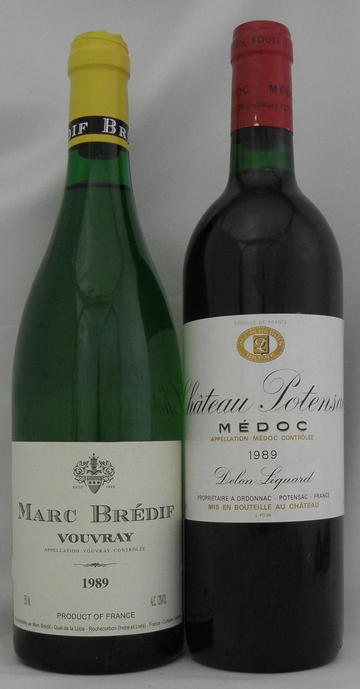 1989年 ヴーヴレイ(フランス 白ワイン)