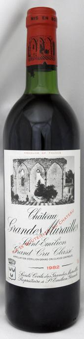 1982年 シャトー グランド ミュライユ(フランス 赤ワイン)