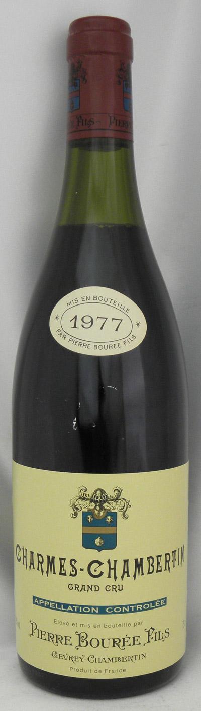 1977年 シャルム シャンベルタン グラン クリュ(フランス 赤ワイン)