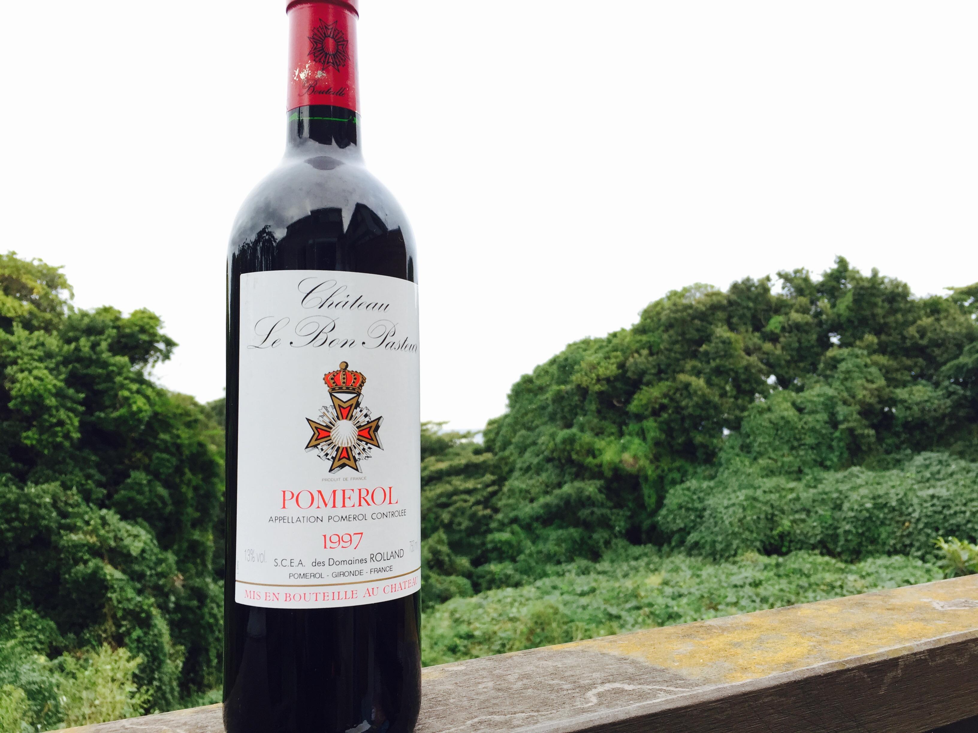 1997年 シャトー ル ボン パストゥール(フランス 赤ワイン)
