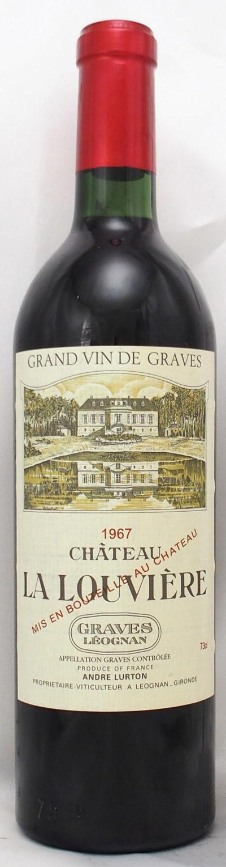 1967年 シャトー ラ ルーヴィエール ルージュ(フランス 赤ワイン)