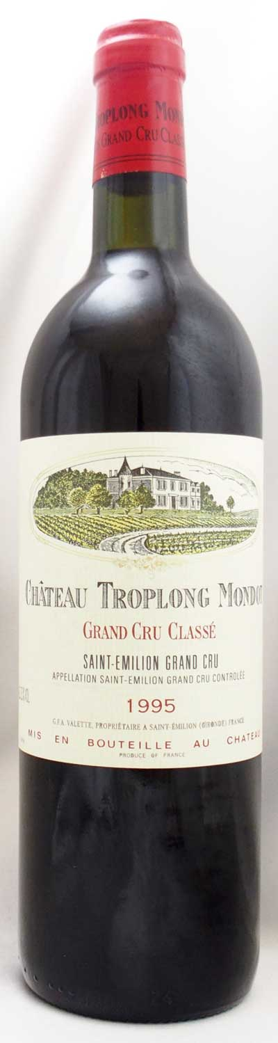 1995年 シャトー トロロン モンド(フランス 赤ワイン)