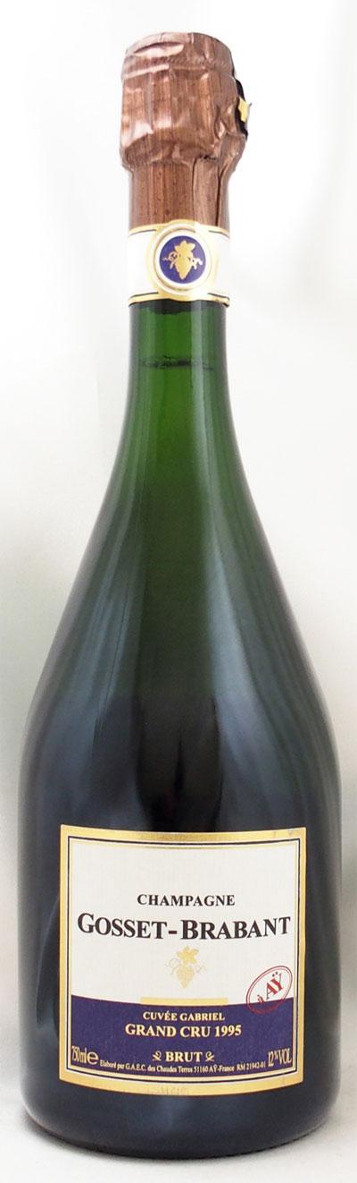 1995年 キュヴェ ガブリエル グラン クリュ ブリュット(フランス シャンパン)