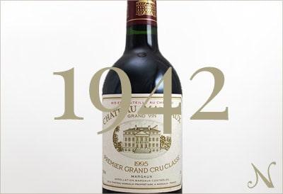 1942年のワイン