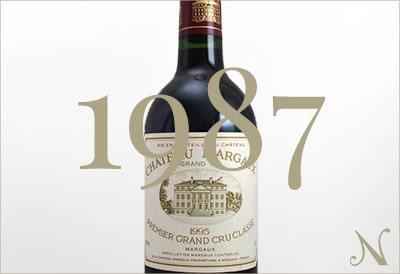 1987年のワイン