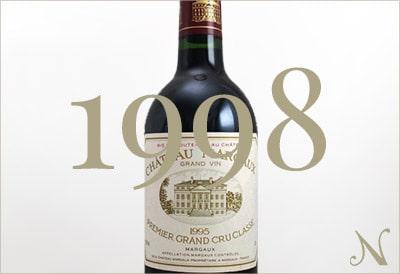 1998年のワイン