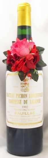 1992年 シャトー ピション ロングヴィル コンテス ド ラランド