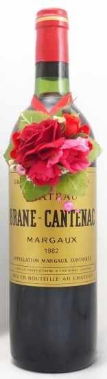1982年 シャトー ブラーヌ カントナック CHATEAU BRANE CANTENAC