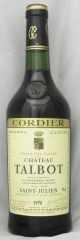 1978年 シャトー タルボ(赤ワイン)