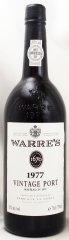 1977年 ワレ ヴィンテージ ポート(赤ワイン)