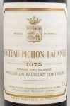 1975年 シャトー ピション ロングヴィル コンテス ド ラランド CHATEAU PICHON LONGUEVILLE COMTESSE DE LALANDE