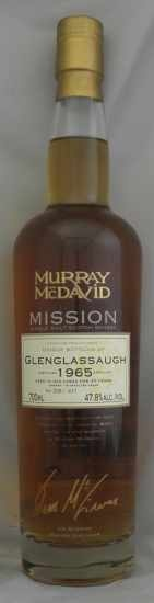 1965年 グレングラッソー GLENGLASSAUGH MURRAY MC DAVID