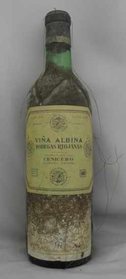 1961年 ヴィーニャ アルビナ レゼルヴァ VINA ALBINA RESERVA BODEGAS RIOJANAS