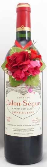 1999年 シャトー カロン セギュール CHATEAU CALON SEGUR