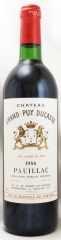 1986年 シャトー グラン ピュイ デュカス(赤ワイン)