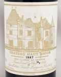 1987年 シャトー オー ブリオン CHATEAU HAUT BRION