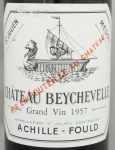 1957年 シャトー ベイシュヴェル CHATEAU BEYCHEVELLE