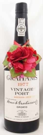 1977年 グラハム ヴィンテージ ポート GRAHAM VINTAGE PORT GRAHAM