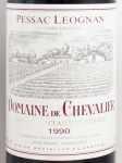 1990年 ドメーヌ ド シュヴァリエ DOMAINE DE CHEVALIER
