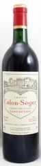 1985年 シャトー カロン セギュール(赤ワイン)