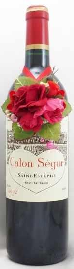 2002年 シャトー カロン セギュール CHATEAU CALON SEGUR