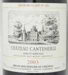 2003年 シャトー カントメルル CHATEAU CANTEMERLE