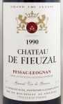 1990年 シャトー ド フューザル ルージュ CHATEAU FIEUZAL ROUGE