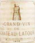 1970年 シャトー ラトゥール CHATEAU LATOUR