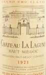 1971年 シャトー ラ ラギューヌ CHATEAU LA LAGUNE
