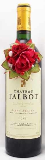 1986年 シャトー タルボ CHATEAU TALBOT