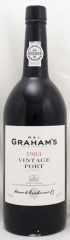1983年 グラハム ヴィンテージ ポート(赤ワイン)