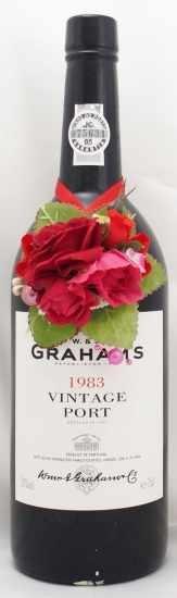 1983年 グラハム ヴィンテージ ポート GRAHAM VINTAGE PORT W&J GRAHAM