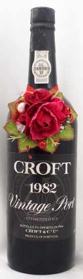 1982年 クロフト ヴィンテージ ポート CROFT VINTAGE PORT CROFT