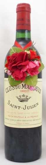1983年 クロ デュ マルキ CLOS DU MARQUIS