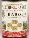 1969年 マルケージ ディ バローロ MARCHESI DI BAROLO  MARCHESI DI BAROLO