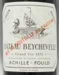 1971年 シャトー ベイシュヴェル CHATEAU BEYCHEVELLE