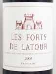 2003年 レ フォール ド ラトゥール LES FORTS DE LATOUR