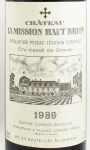 1989年 シャトー ラ ミッション オーブリオン CHATEAU LA MISSION HAUT BRION