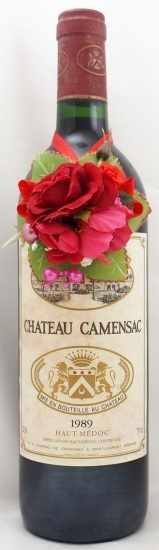 1989年 シャトー カマンサック CHATEAU CAMENSAC