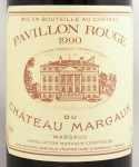 1990年 パヴィヨン ルージュ ド シャトー マルゴー PAVILLON ROUGE DU CHATEAU MARGAUX