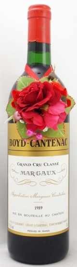 1989年 シャトー ボイド カントナック CHATEAU BOYD CANTENAC