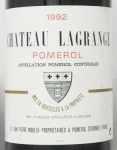 1992年 シャトー ラグランジュ ア ポムロル CHATEAU LAGRANGE A POMEROL